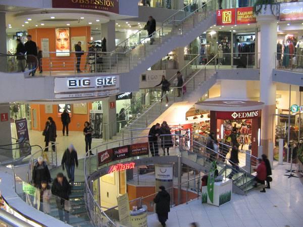 Фото реклама в торговом центре